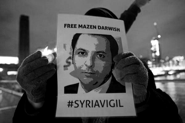 Syria: Release of Hani Al-Zitani and Hussein Gharir must be followed by release of Mazen Darwish