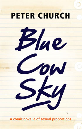 Blue Cow Sky by Peter Church