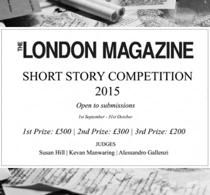 Enter The London Magazine Short Story Competition 2015