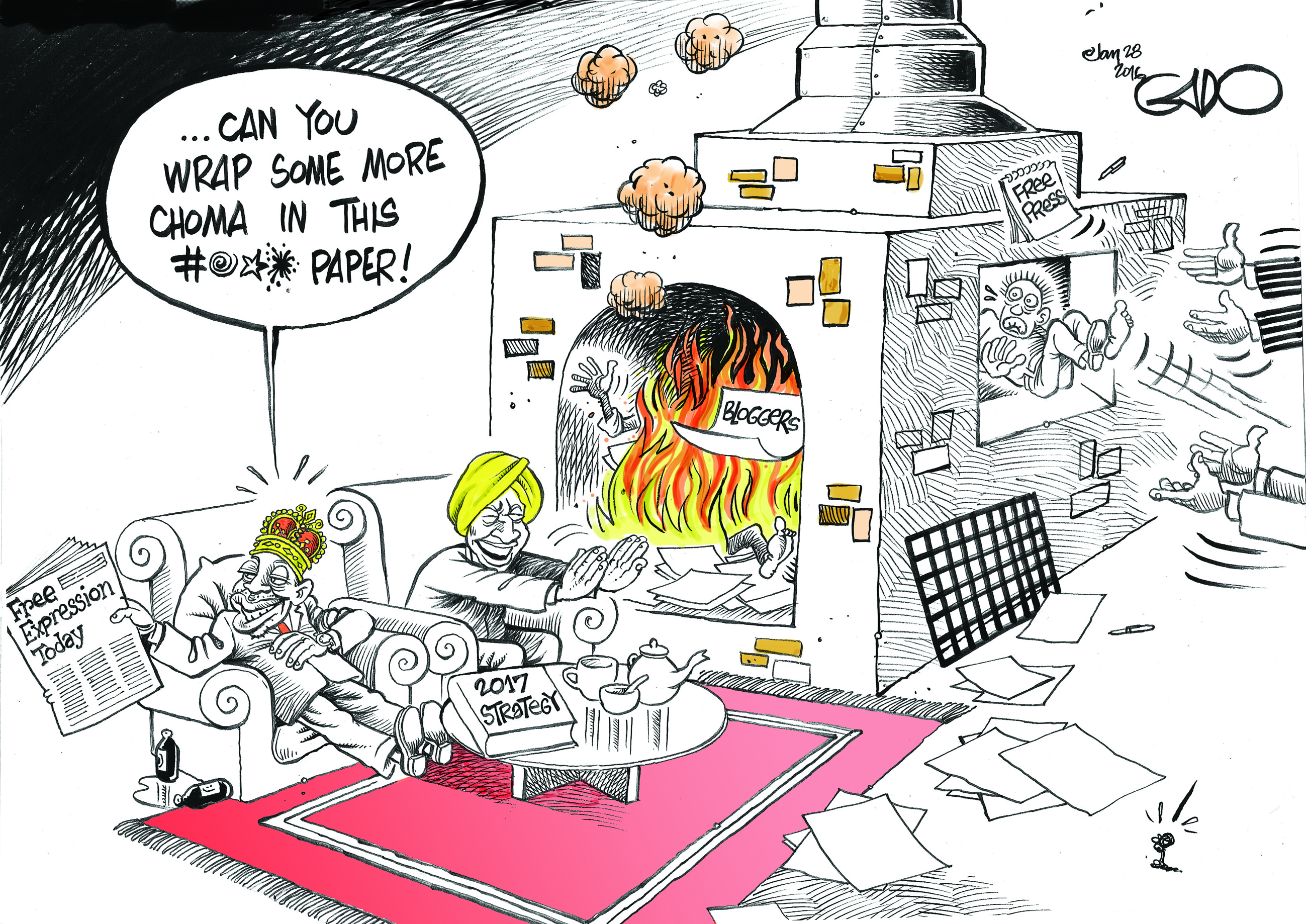 Kenya: Cartoonist Dismissed from Paper Must be Reinstated or Compensated