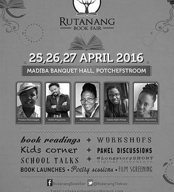 New Annual Literary Event: Rutanang Book Fair in Tlokwe