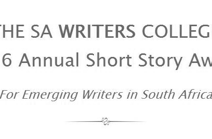Enter the SA Writers College 2016 Annual Short Story Award