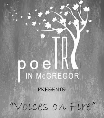 "Enter the McGregor Poetry Festival ""Voices on Fire""  Poetry Competition"