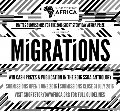 The 2016 Short Story Day Africa Prize is Open for Submissions