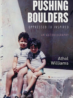 Pushing Boulders by Athol Williams