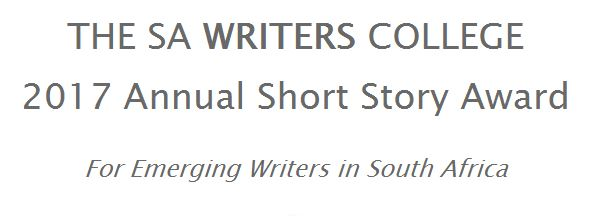 Enter the SA Writers College 2017 Annual Short Story Award