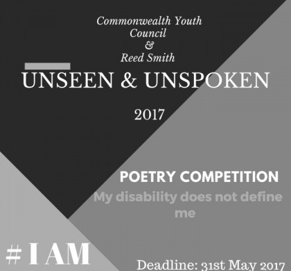 Unseen & Unspoken Poetry Competition Open for Entries