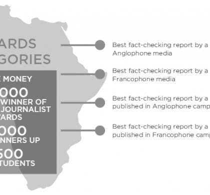 Call for Entries for the African Fact-checking Awards