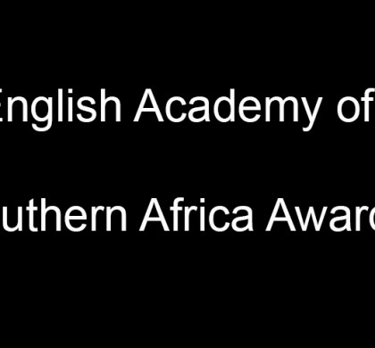 Winners of the English Academy of Southern Africa Awards Announced