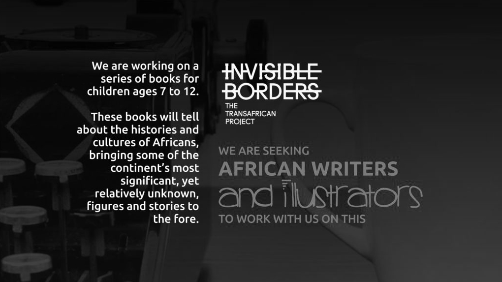 Invisible Borders Calling for African Writers and Illustrators of Children's Books