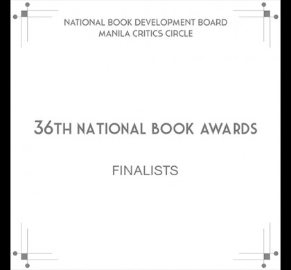 Jim Pascual Agustin Shortlisted for a Philippine National Book Award