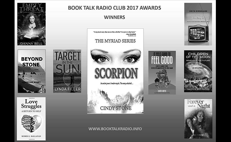 2017 Book Talk Radio Club Award Winners Announced