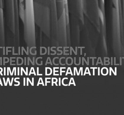PEN Report on Criminal Defamation Laws in Africa