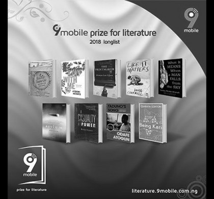 2017 9mobile Prize for Literature Longlist Announced