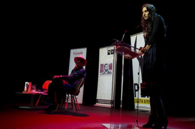 Nadia Davids and Panel