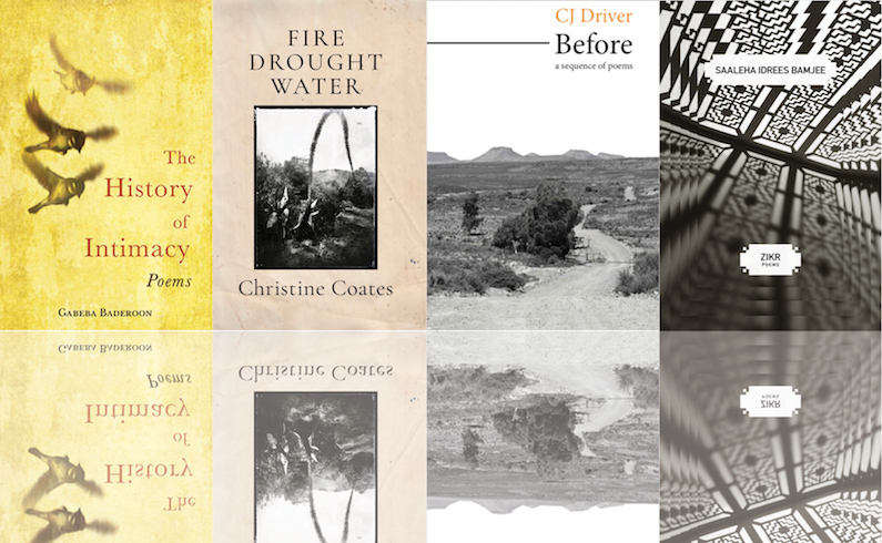 A Member Poetry Special! Poems from the New Collections of CJ Driver, Gabeba Baderoon, Saaleha Idrees Bamjee, and Christine Coates!
