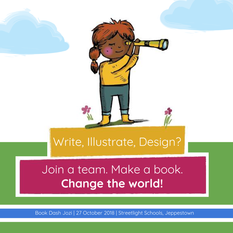 Apply for the Next Book Dash in Johannesburg in October!