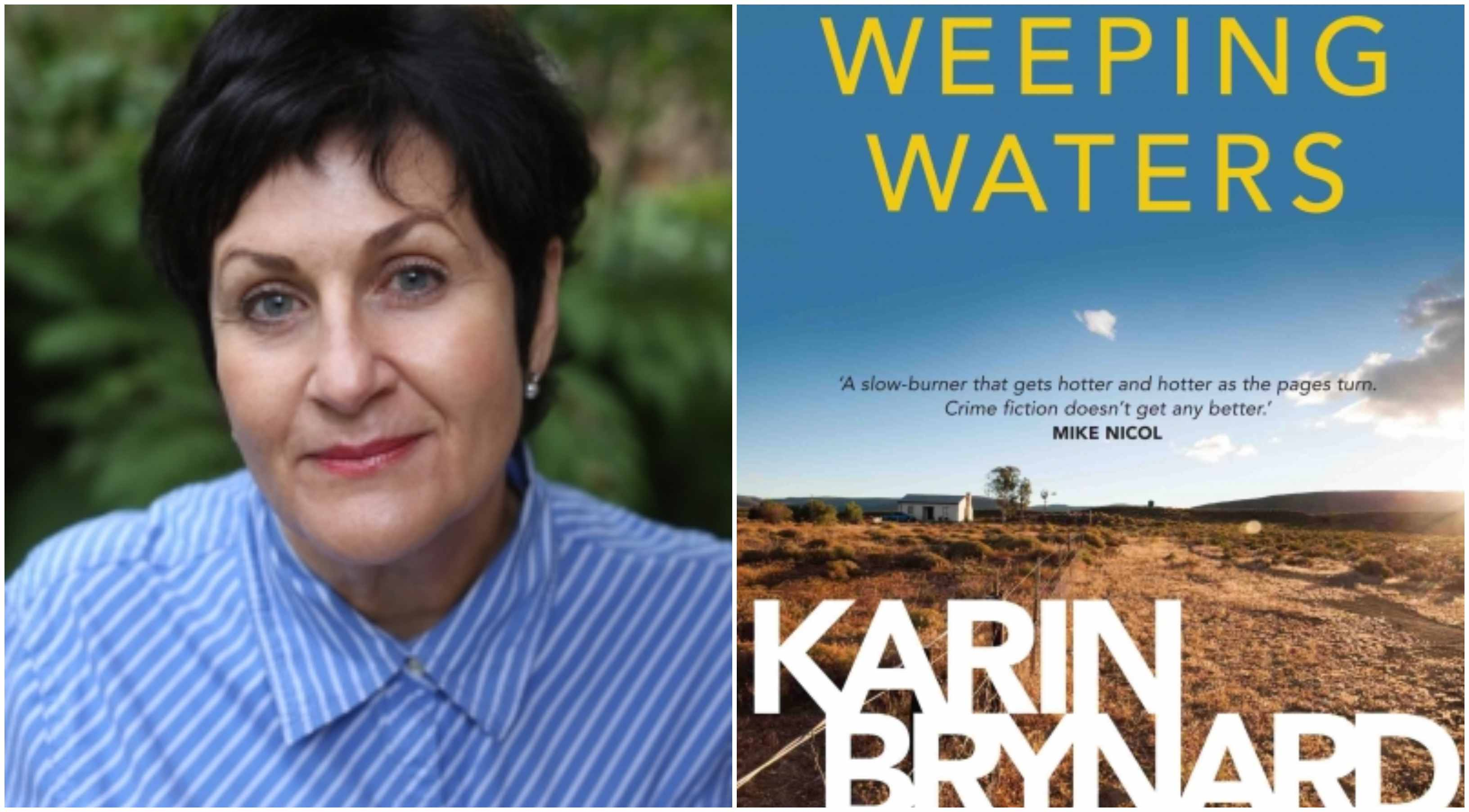 Karin Brynard's 'Weeping Waters' longlisted for International Dagger Award