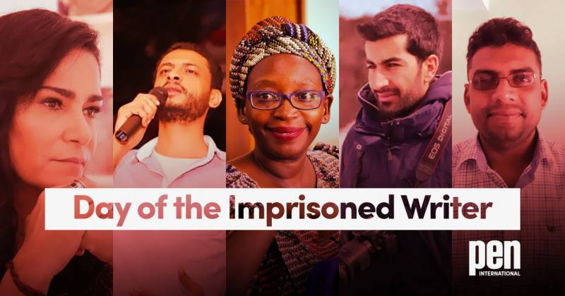 WATCH: PEN SA Marks the Day of the Imprisoned Writer