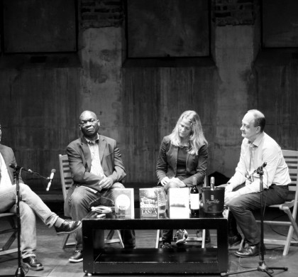 Neel Mukherjee, Mandla Langa, Åsne Seierstad and Steve Connolly