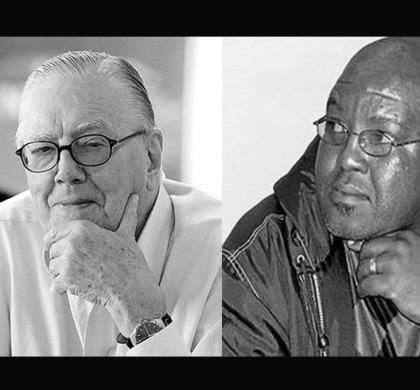 Raymond Louw and Bheki Makhubu