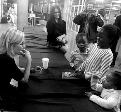 Lucy Hawking Attends Launch of isiXhosa and isiZulu Translations of Her Book