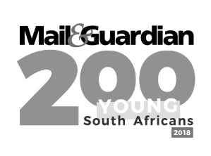 Amy Heydenrych and Nick Mulgrew Named 2018 Mail & Guardian Young South Africans