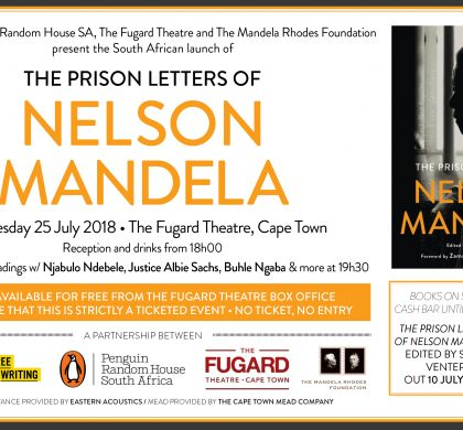 PEN SA to Co-Launch The Prison Letters of Nelson Mandela on 25 July