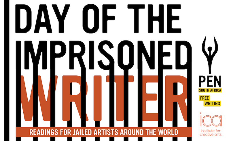 Join PEN SA at our 2018 Day of the Imprisoned Writer event in Cape Town