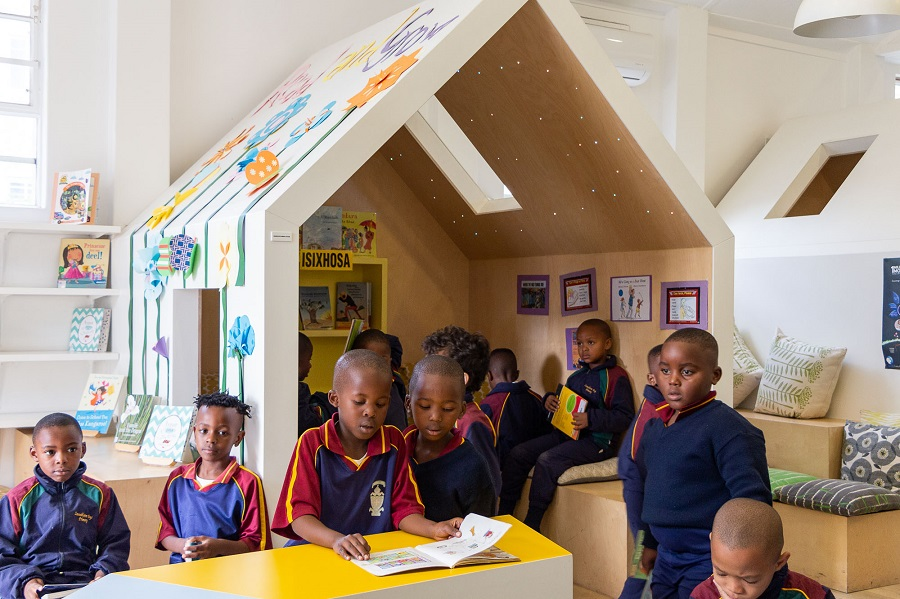 Zonnebloem library nurtures culture of reading and respect